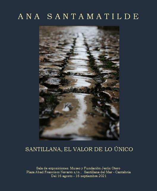 Afiche exposición Santillana